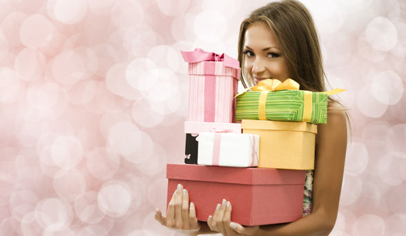 Woman Presents Gifts Too Good To Give Away Article New Eligible Magazine