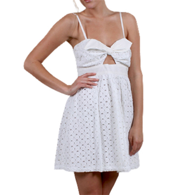 Eligible Little White Dress