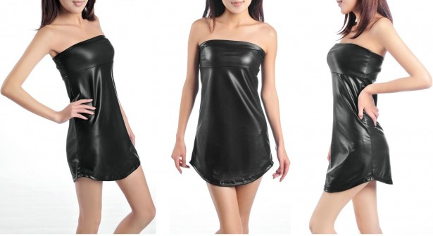 Wholesale-leather-dresses-for-women-strapless-leather-dress-Black-leather-dresses-for-sale-leather-dresses-online
