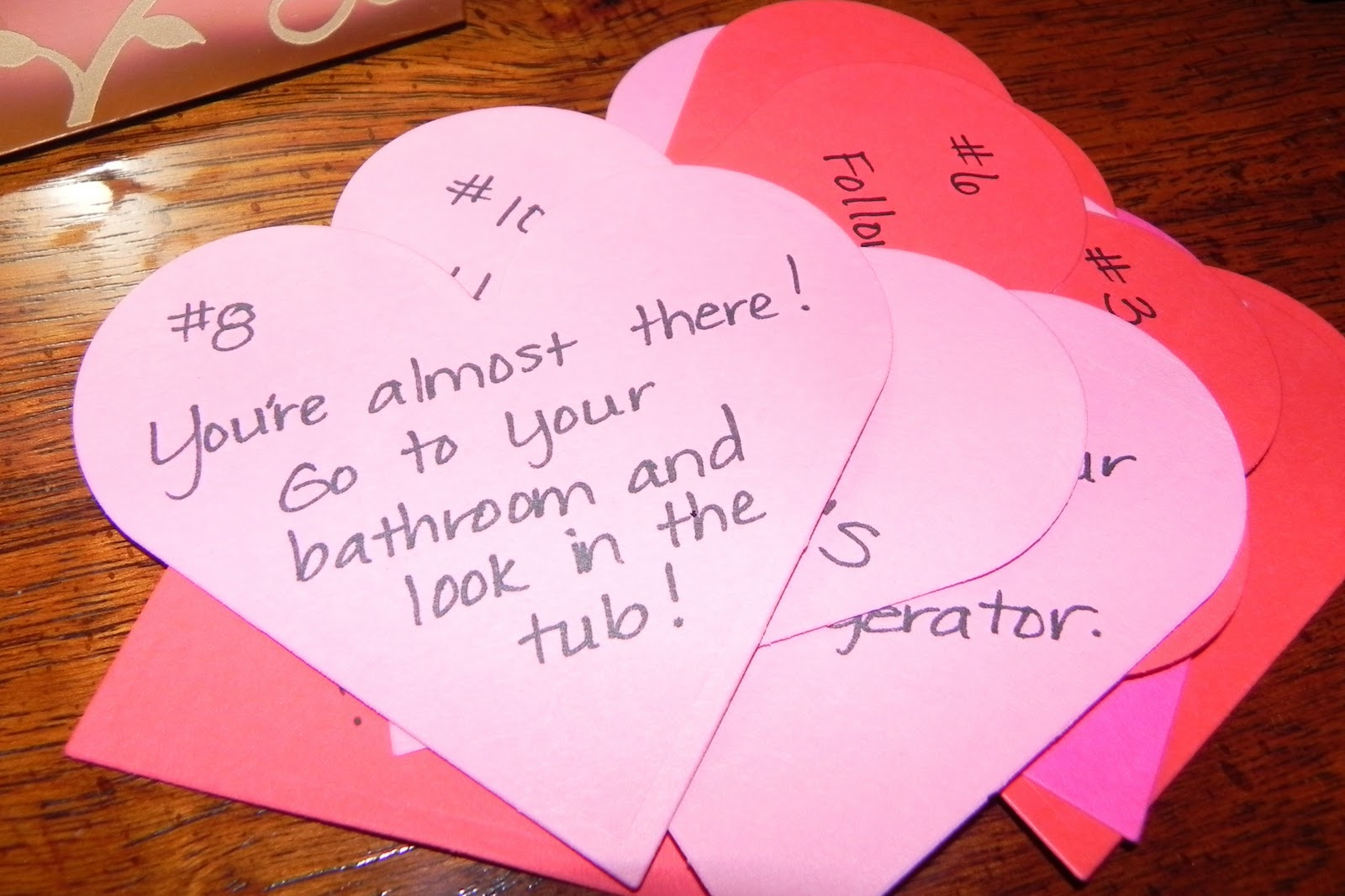 Image result for valentines scavenger hunt