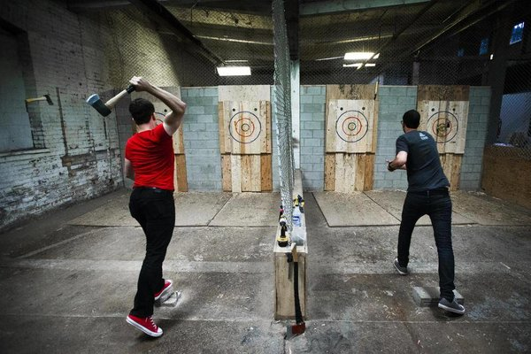 Calgary axe throwing speed dating