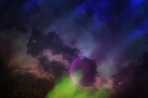 Aurora Cosmic Texture